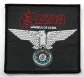 Saxon - 'Wheels of Steel' Woven Patch